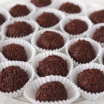 Brigadeiros: tartufi al cioccolato brasiliani
